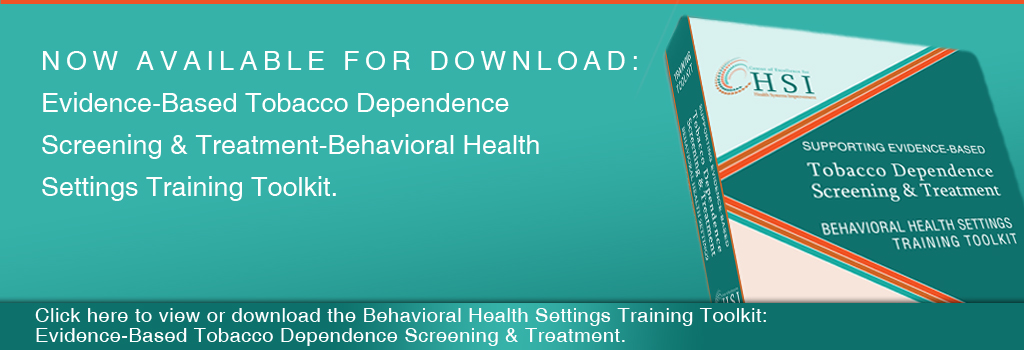 evidence based tobacco dependence toolkit 2